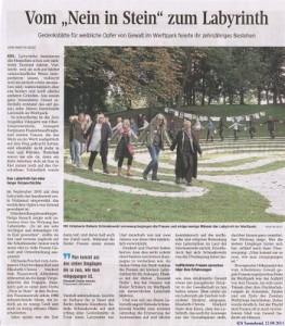 Jubiläum 10 Jahre  Labyrinth, 10.09.2015 kleiner