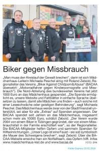 Kieler Express Spende Bacaa Januar 2016