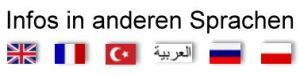 Link zu den Seiten mit Infos über das Mädchenhaus Kiel in verschiedenen Sprachen