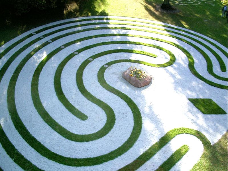 Blick auf das Kieler Labyrinth
